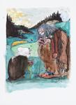 Rune Brink 26 x 35 Akvarell