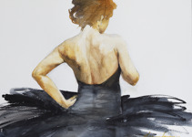 Olga Semenova 65x47 akvarell