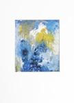 Milan Vobruba Abstrakt blå-gul-vit 30 x 40 offset