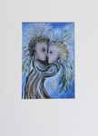 Milan Vobruba Kärlek 30 x 40 glaskonst