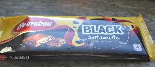 Vill verkligen varna för denna om man gillar choklad och salt...:)