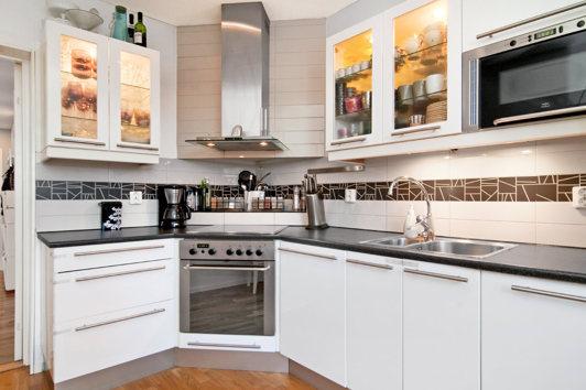 Köket i nya lägenheten!