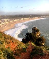 Utsikt mot Praia från Sitio