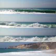 Vågorna som lockar många surfare
