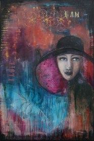 I am, (61x91 cm), SOLD