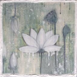 Lotus II, (38x38 cm), SOLD