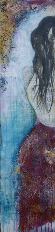 """""""A trace of magic"""", 120x30cm, SOLD"""