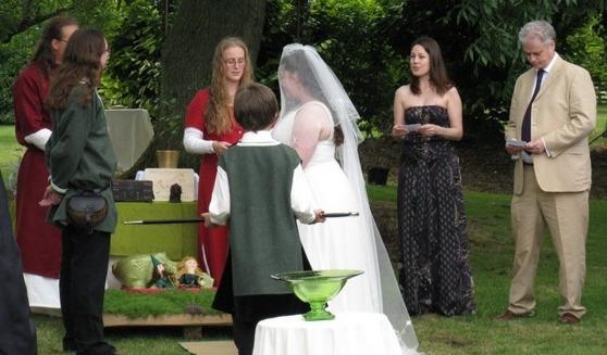 Hedniskt bröllop i England 2011 -- Fotograf: Richard Harding