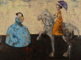 Fundamental Love, 2011, oil on canvas, 91 x 122 cm (Sold)