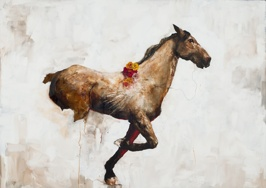 The Education of Pegasus: Morality, 2013, oil on linen, 152x213 cm