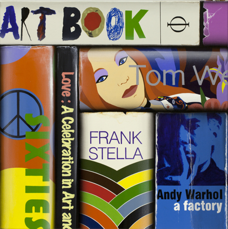 Art Book, Vanitas 13.12.06, 2013, acrlyic on canvas, 76 x 76 cm (Sold)
