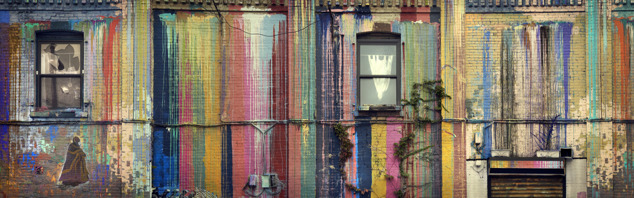 Side Streets NYC, 31 x 100 cm, edition of 35
