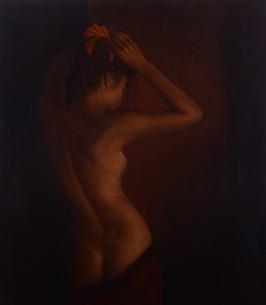 Maud, 2014, oil on canvas, 90 x 80 cm