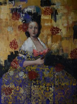 Seemless Glamor, oil on canvas, 102 x 76 cm, 2015