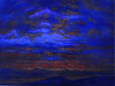 Le palais oublié,2011, oil on canvas, 65 x 50 cm (Sold)