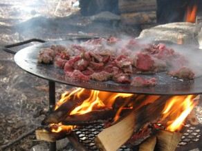 Älgkött på menyn