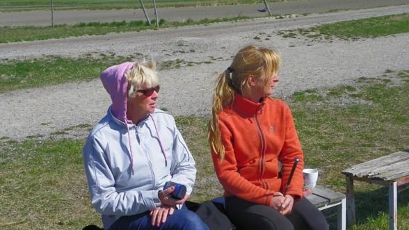Lena och Maria analyserar en lektion