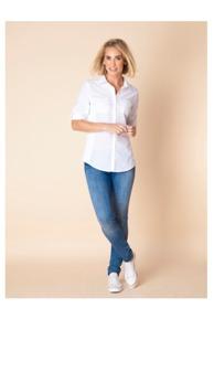 REA Yest Geir skjorta vit - Strl 42