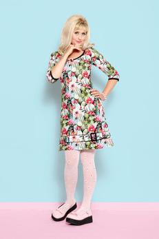 REA Margot Tina Texas klänning - Strl S