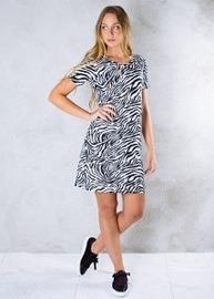REA ByJolima Line dress zebra