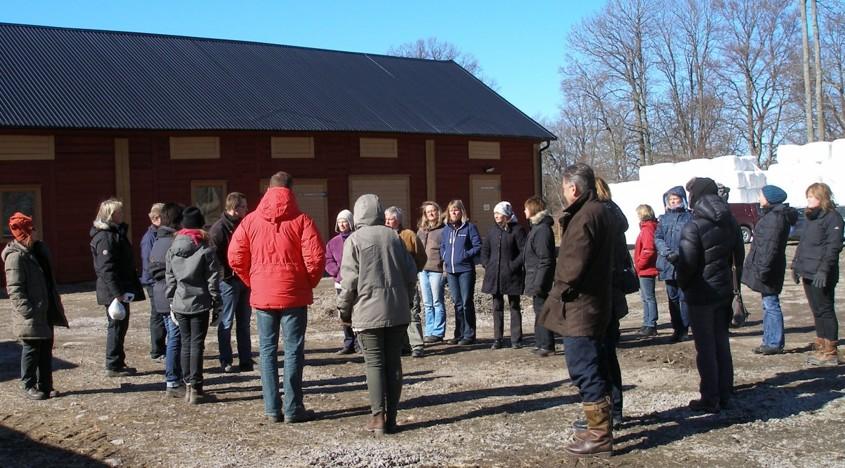 Temadag på Stenholmen, foto: Karin Magnusson