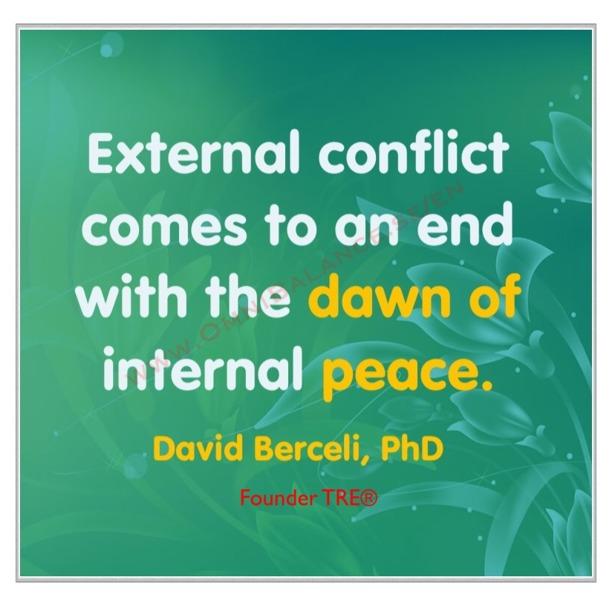 Dr David Berceli, quote