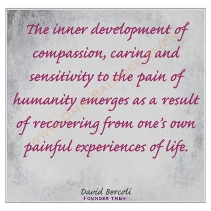 inner peace, dr david berceli, quotes