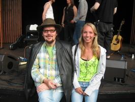 Ola & Anna Paulsson Liseberg sommaren 2012