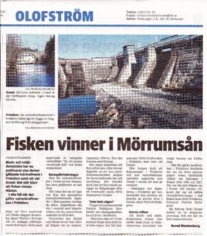 Blekinge Läns Tidning 18/1 2014