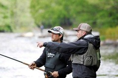 Lära ut konsten att fiska fluga