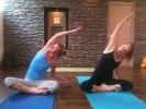Några av våra trogna yoginis.