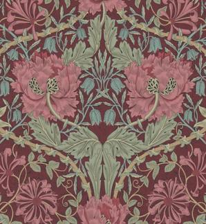 tapet william morris honeysuckle tulip stermalms. Black Bedroom Furniture Sets. Home Design Ideas