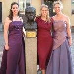 Jenny Lind-konsert i Borlänge, 2007, Rebecca Sjöwall, sopran och Inese Klotina, pianist.