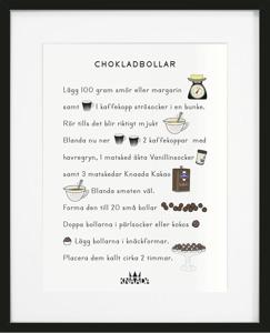 Chokladbollar - Nytryck!