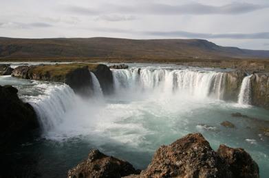 Goðafoss, Iceland.