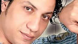 Emad Baroor (Egy) hav Shaabifest under Eid-firandet, tillsammans med Saly och band.