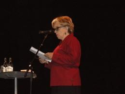 Slavenka Drakulic deltog i Migrationspolitiskt seminarium på Kulturhuset