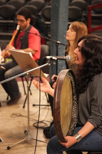 Pasha Hanjani, Sarah Riedel och Mahsa Vahdat