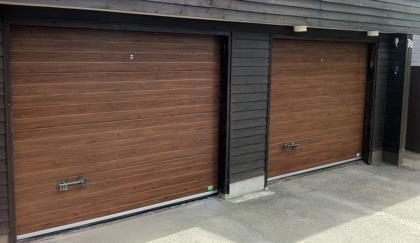 Byta panel på garageport