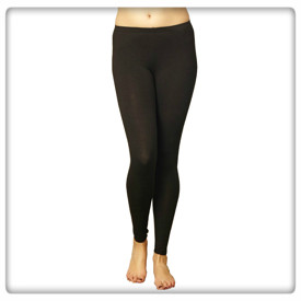 Leggings svart 44 - Svart 44