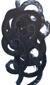 """Black Swirls"" 100x170 cm, oil on canvas. Anders Kumlien 2014"