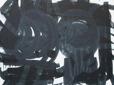 """Big Black Swirls"" 200x170cm, oil on canvas. Anders Kumlien 2014"