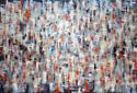 """Spanish lights"", 190x280 cm. Oil on canvas, Anders Kumlien 2013."