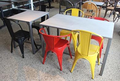 34 Stolen Detroit. Bordet Coffe Shop