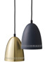 Mini Dynamo Pendant - Mini Dynamo Matt Almost Black