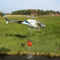Vår AS 350 B3 startar med 1200 liter vatten