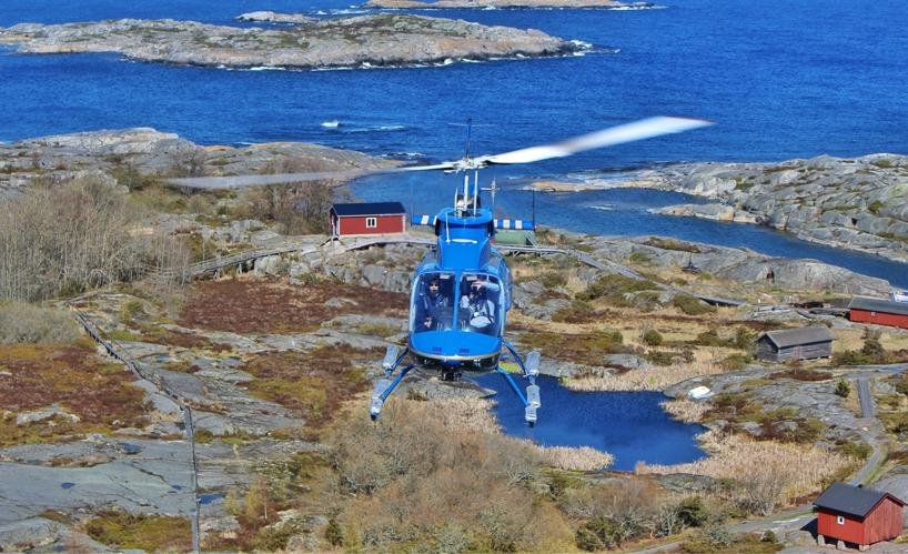 Helikopterlyft priser