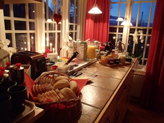 Frukostbuffé i juletider