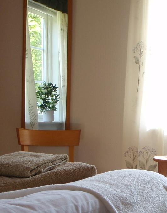 Lilla lägenheten sommarbild