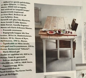 Elle Decoration april 2015